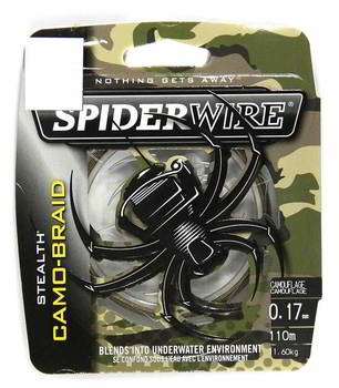 Леска Berkley плет. SpiderWire Stealth Camo 110m 0.35, 1345534