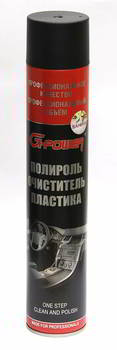 Полироль для пластика GUNK G-Power, Ваниль, 1000 мл., GP-750