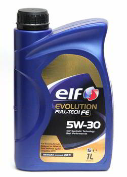 ����� �������� ������������� ELF Evolution FullTech FE 5W30, 1 ����.