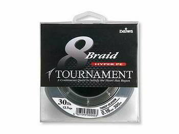 Леска DAIWA Tournament 8xBraid D. Green 0.08мм 135м