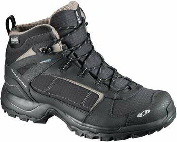 Ботинки женские SALOMON 7, 5 WASATCH WP W BLACK/BLACK/AUTOB, L12066200_7,5