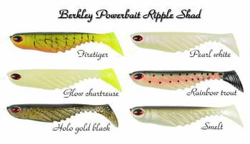 Приманка Berkley POWERBAIT Ripple Shad 5cm FIRETIGER, 028632547328, 1235897