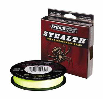 Леска Berkley Spiderwire Stealth Green 270м d-0.10мм