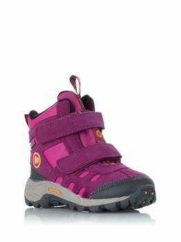 Ботинки детские Merrell 4 MOAB POLAR MID STRAP WTPF KIDS purple potion, 95430-04