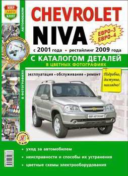 Руководство по ремонту и эксплуатации Мир Автокниг Я ремонтирую сам ВАЗ-2123 Chevrolet с каталогом - Автомобильная - ТК-103