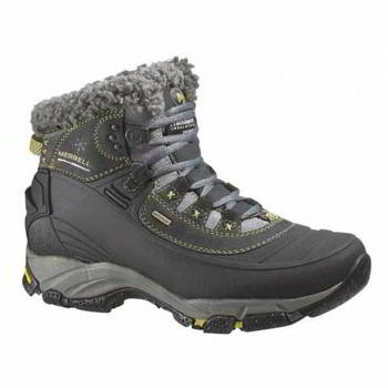 Ботинки женские Merrell 8 Winterlude 6 Waterproof women's boots black р.8, 87624-08