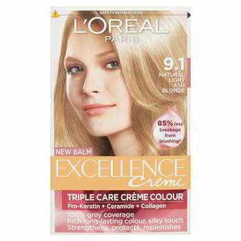 ������ ��� ����� L`OREAL EXCELLENCE 9, 1 ����� ��. -����� ���������, 'A0693225, A0693228