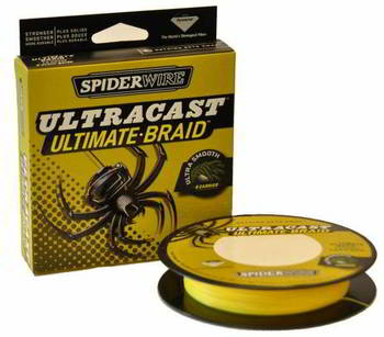 Леска Berkley Spiderwire Ultra Cast 8 Carrier Yellow 110м 0, 20, 1345588