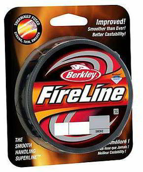 Леска Berkley FireLine Smoke 250m 0.39, 1308622