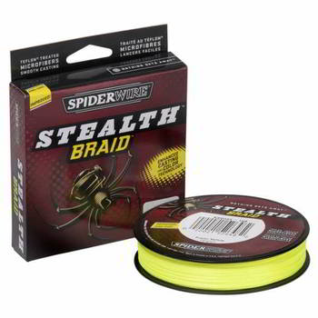 Леска Berkley Spiderwire Stealth Yellow 137м 0.10, 1345463