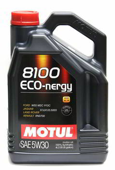 ����� �������� ������������� MOTUL 8100 Eco-nergy 5W30, 4 �����., 104257