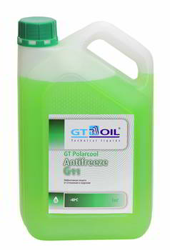 Антифриз GT Oil Polarcool G-11, -40С, 3 кг., 4665300010232