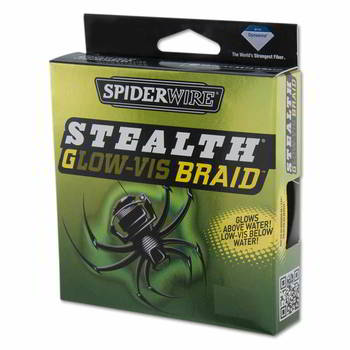 Леска Berkley SpiderWire Stealth Glow Vis 270m 0.20, 1345627 1303917