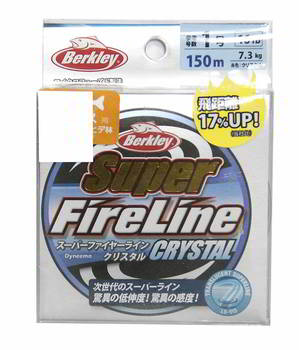 Леска Berkley плет. Super FireLine Crystal 150m 1.5, 1324472