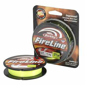 Леска Berkley FireLine Green 110m 0.20mm, 1308666