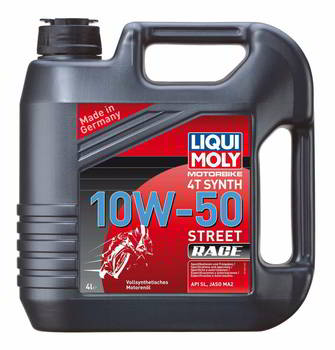 ����� �������� �������������� LIQUI MOLY Racing Synth 4T, 10W50, ���������, 4 �����., 7508, 7508C