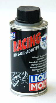Присадка в масла для мототехники LIQUI MOLY Racing Bike-Oil Additiv, антифрикционная с MoS2, 30 мл на 1литр, 125 мл., 1580